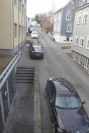 Hotel Reykjavik Centrum: Quiet side street