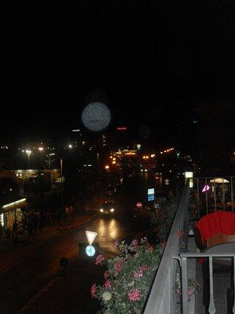 Hotel Gabbiano: pvista dal balcone