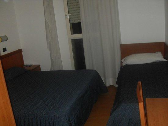 Hotel Gabbiano: letto