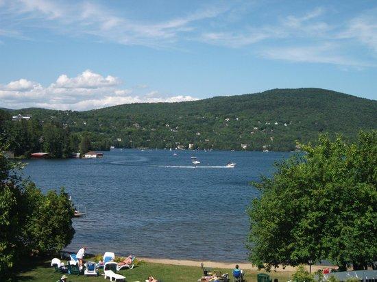 Lac-Beauport, Canada: Le lac beauport en été