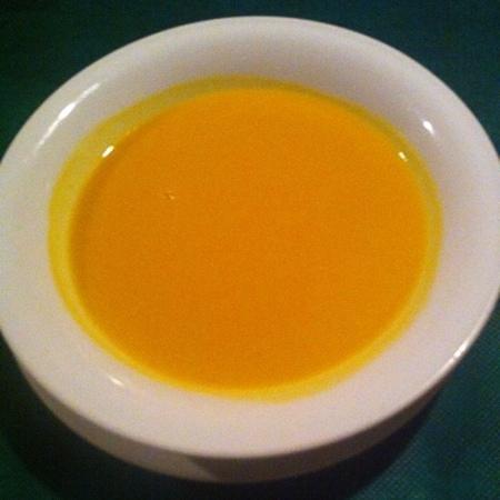 Mamezon: セットのスープ 南瓜でした