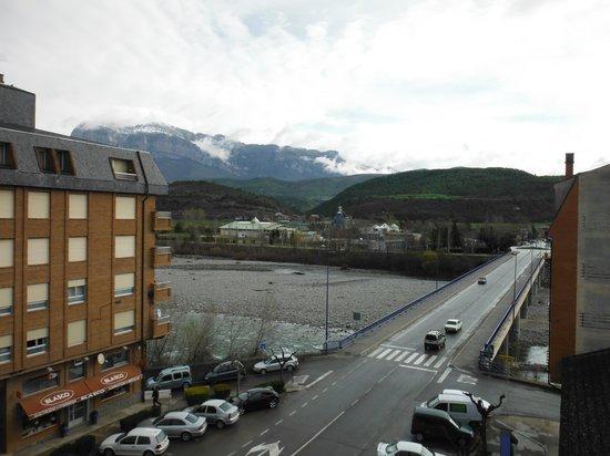 Hotel Dos Rios: 角部屋からの眺め