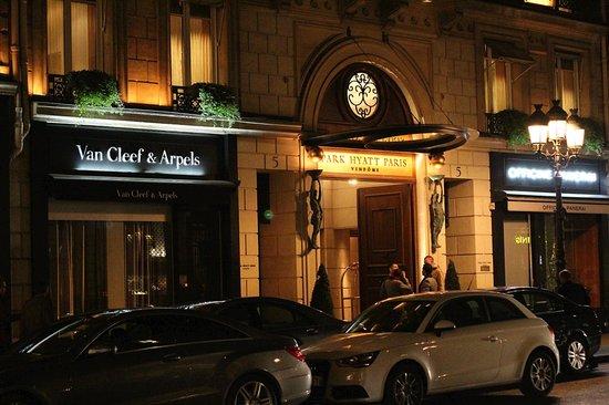 بارك حياة باريس - فيندوم: Front Entrance