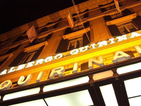 Quirinale Hotel: Fachada