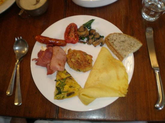 TARA Guest House: LOVED the food!
