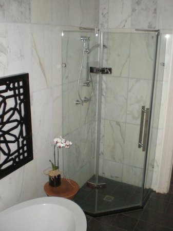 TARA Guest House: The bathroom was shared with one other room, but it was never a problem.