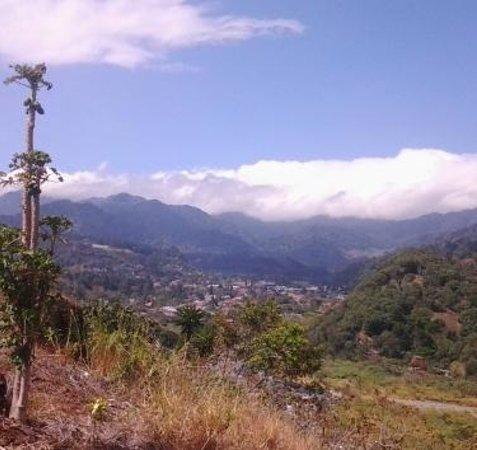 La Casa de la Abuela: View of village