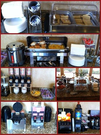 Clarion Suites: Clarion full hot breakfast