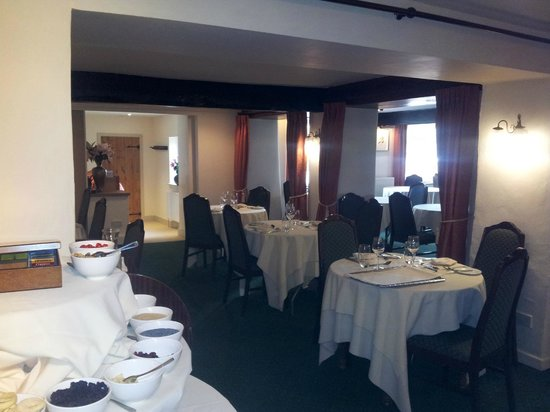 Mill House Hotel: Dining room