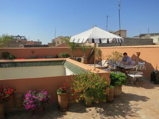 Riad Ma'ab : Terrace