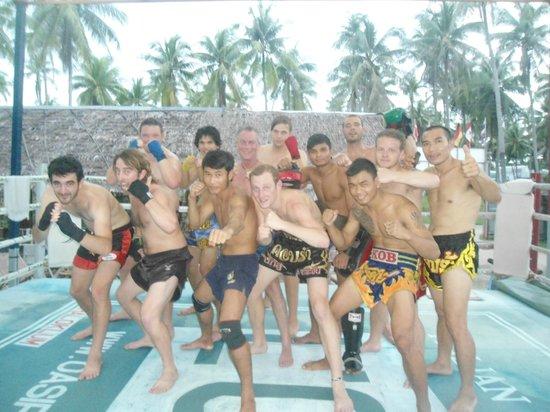 Kobra Muay Thai Boxing Stadium: Training
