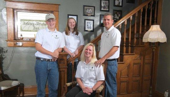 Ashley-Drake Historic Inn and Gardens: The Smith Family