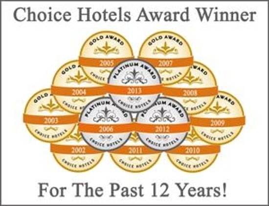 Clarion Suites: Hotel Awards
