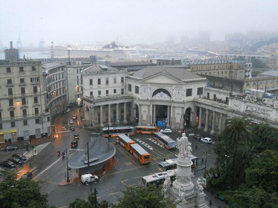 Grand Hotel Savoia: Rooftop View from Hotel