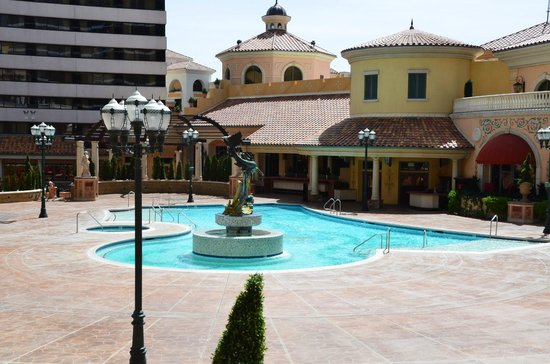 Peppermill Resort Spa Casino: view from balcony of 327 on the Tuscany Towers