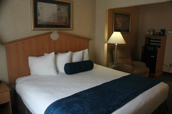 Marco LaGuardia Hotel by Lexington: King Bed comfortable-4 pillows but all foam