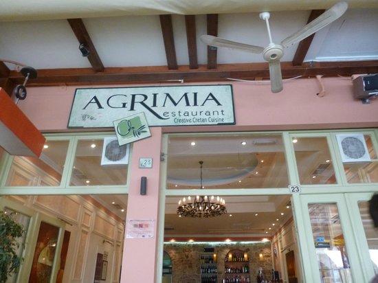 Ta Agrimia: Agrimia Restaurant Rethymnon