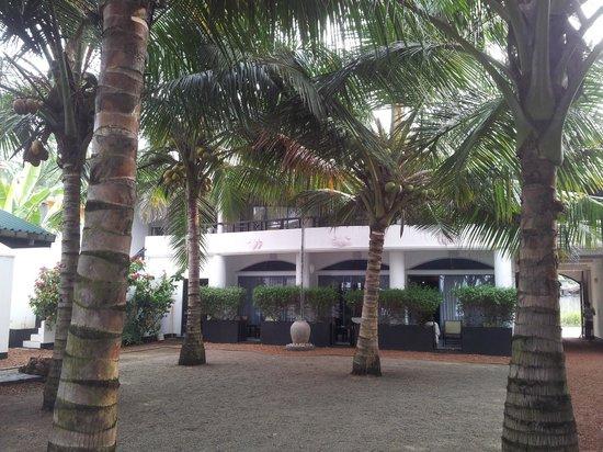 Dalawella Beach Resort: The hotel view