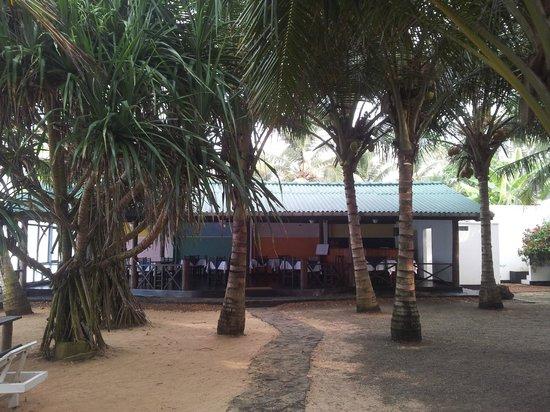 Dalawella Beach Resort: The restaurant