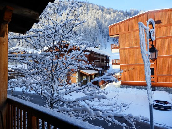 Chalet Bonjour-Bivouac: View from our room