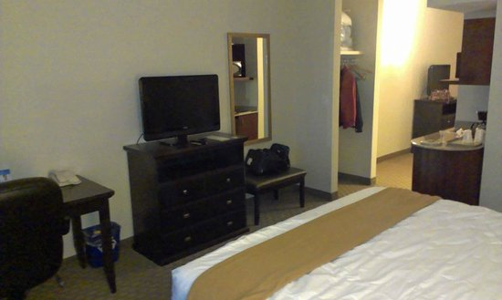 Holiday Inn Express Hotel & Suites Ottawa Airport : Bedroom 01