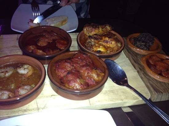 El Cafe: some of our delicious tapas selection.