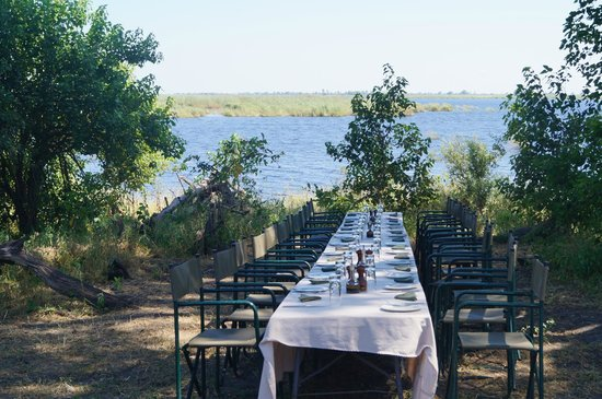 Wilderness Safaris DumaTau Camp: An included catered lunch in the Bush