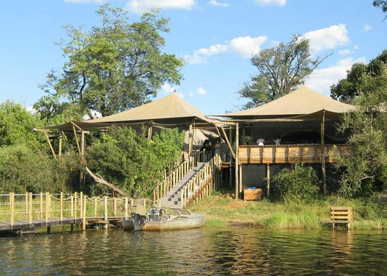 Wilderness Safaris DumaTau Camp: Main tents