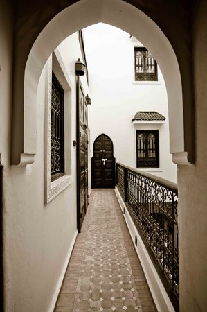 Riad Shambala: pasillos