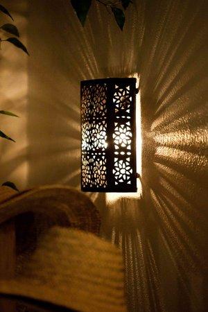 Riad Shambala: lampara