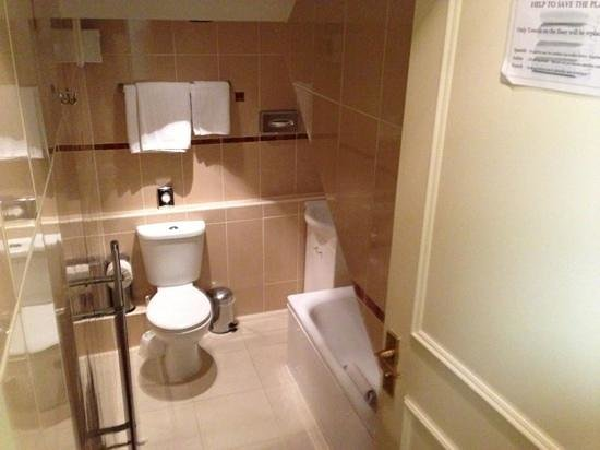 Best Western Victoria Palace: well appointed bathroom