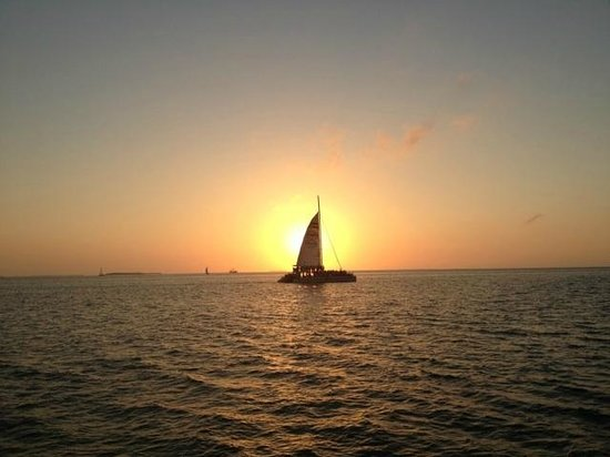 Key West Marriott Beachside Hotel: Sunset sail