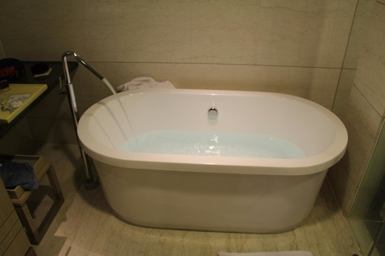 Hotel Nikko Saigon: big bath tub