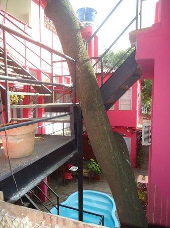 Bonita Ipanema Pousada & Hostel: Vista da Janela do Quarto