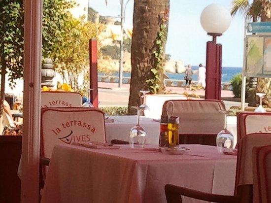Restaurante Vives: Lovely terrace