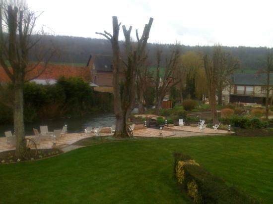Auberge du Clos Normand : vue
