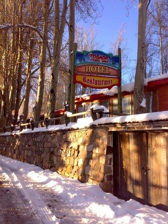 Hotel Posada de Farellones: Chegando ao Hotel Posada Farellones