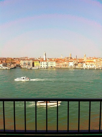Hilton Molino Stucky Venice Hotel: View from room #501