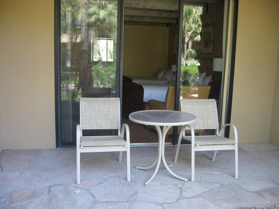 DoubleTree Resort by Hilton Paradise Valley - Scottsdale: Our patio