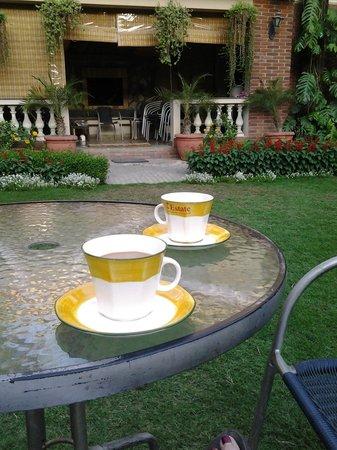 The Estate: Masala chai on the lawn