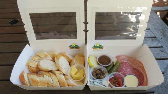 Maleny Cheese: Antipasto Platter for 2 - take away