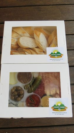 Maleny Cheese: ready to take home - antipasto platter for 2