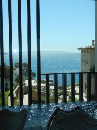 Hospes Maricel Mallorca & Spa : View from our room