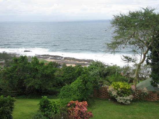 Bed & Breakfast by the Sea: View to Indian Ocean from our patio