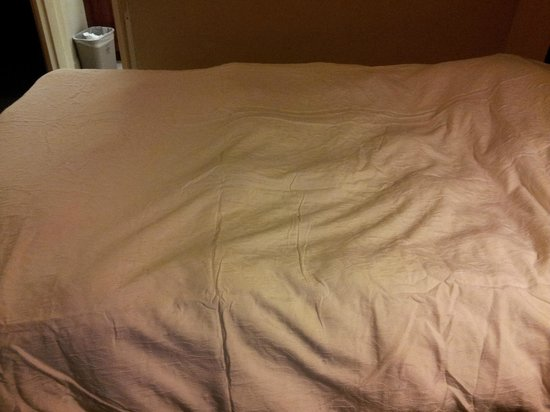 Hampton Inn Bowie: Lumps in comforter
