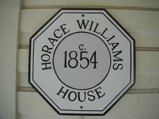 Horace Williams House: Preservation Plaque