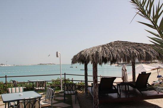 Hilton Abu Dhabi : plage
