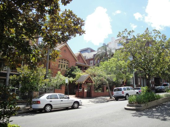 Simpsons of Potts Point Hotel: View from across the street