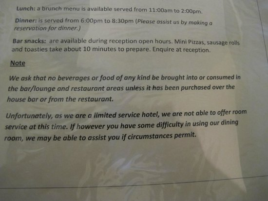 Waitomo Caves Hotel : We paid $235 for a limited service hotel - not happy at all!!!