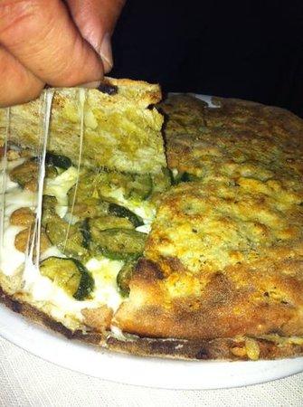 Le Monache: pizzolo zucchine e gamberetti...x me?? il più buono...